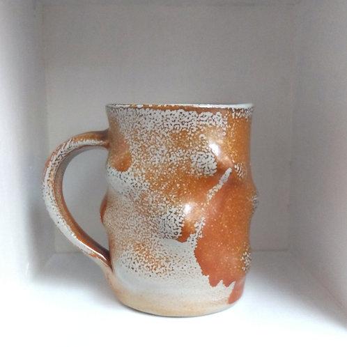 Short bumpy mug by Robert Bauer