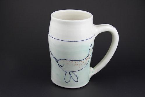 Large Narwhal Mug
