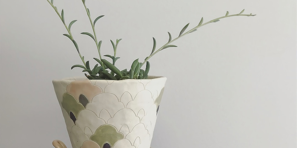 Pinch Pot Planters with Kellsey Ronaghan