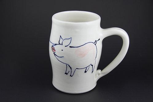 Large Pig Mug