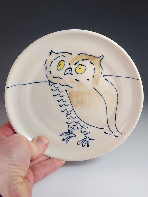 5 inch owl plate