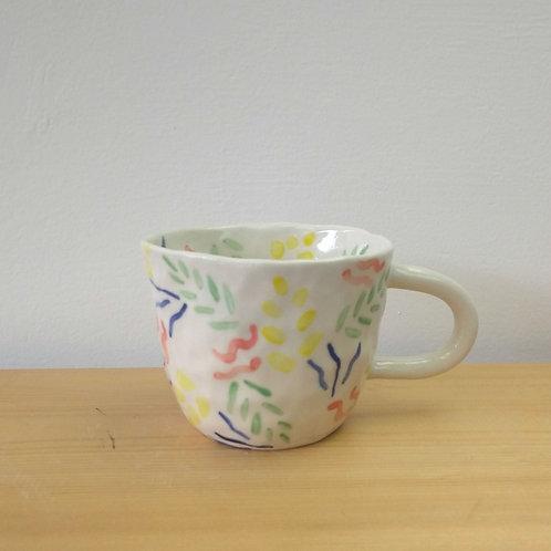 Pinched Confetti mug
