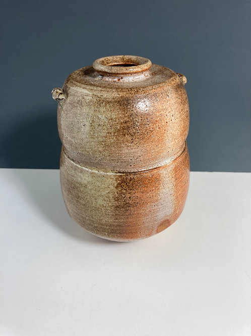 Wood fired Vase by Wayne Ngan