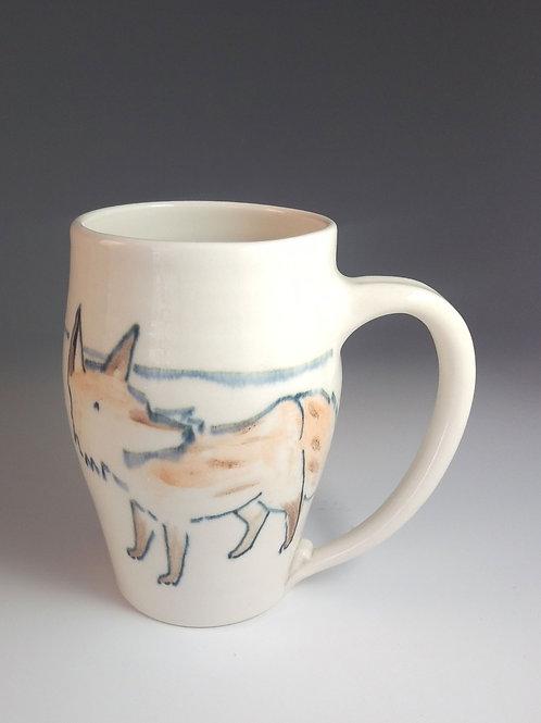 Large Fox Mug