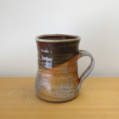 Soda fired mug by Connie Glover