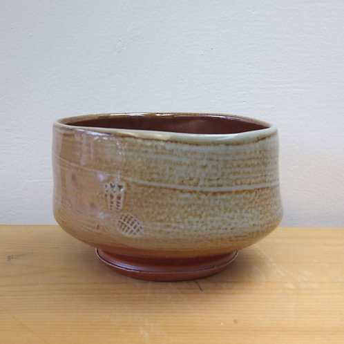 Large tea bowl by Cathi Jefferson