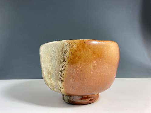 Shino bowl by Bonita Cohn