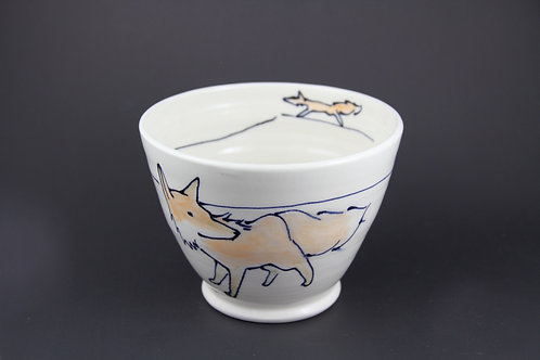 Medium Fox Bowl