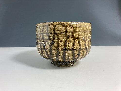Ash glaze bowl