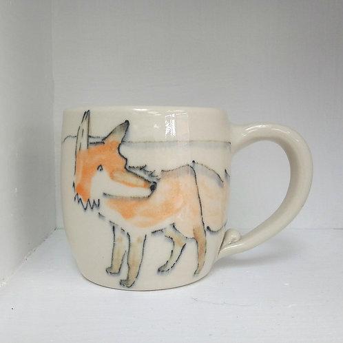 Mini fox mug
