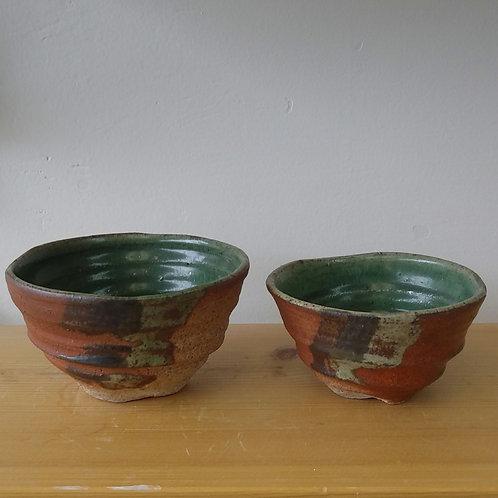 Set of Lynn Johnson bowls