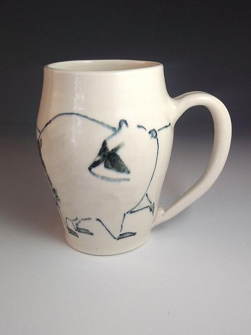 Large Raccoon Mug