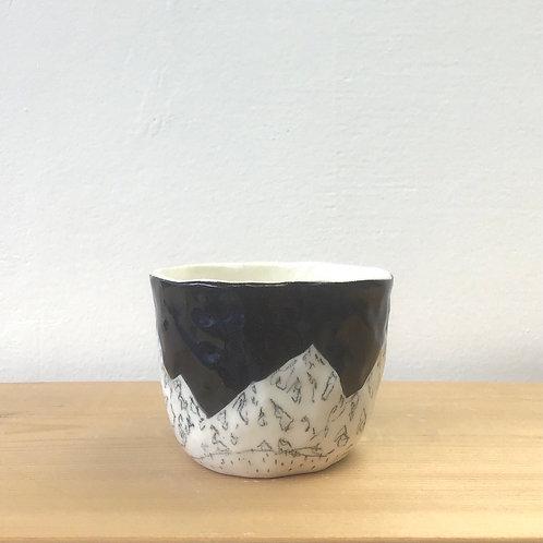 Tiny Black Tea Cup