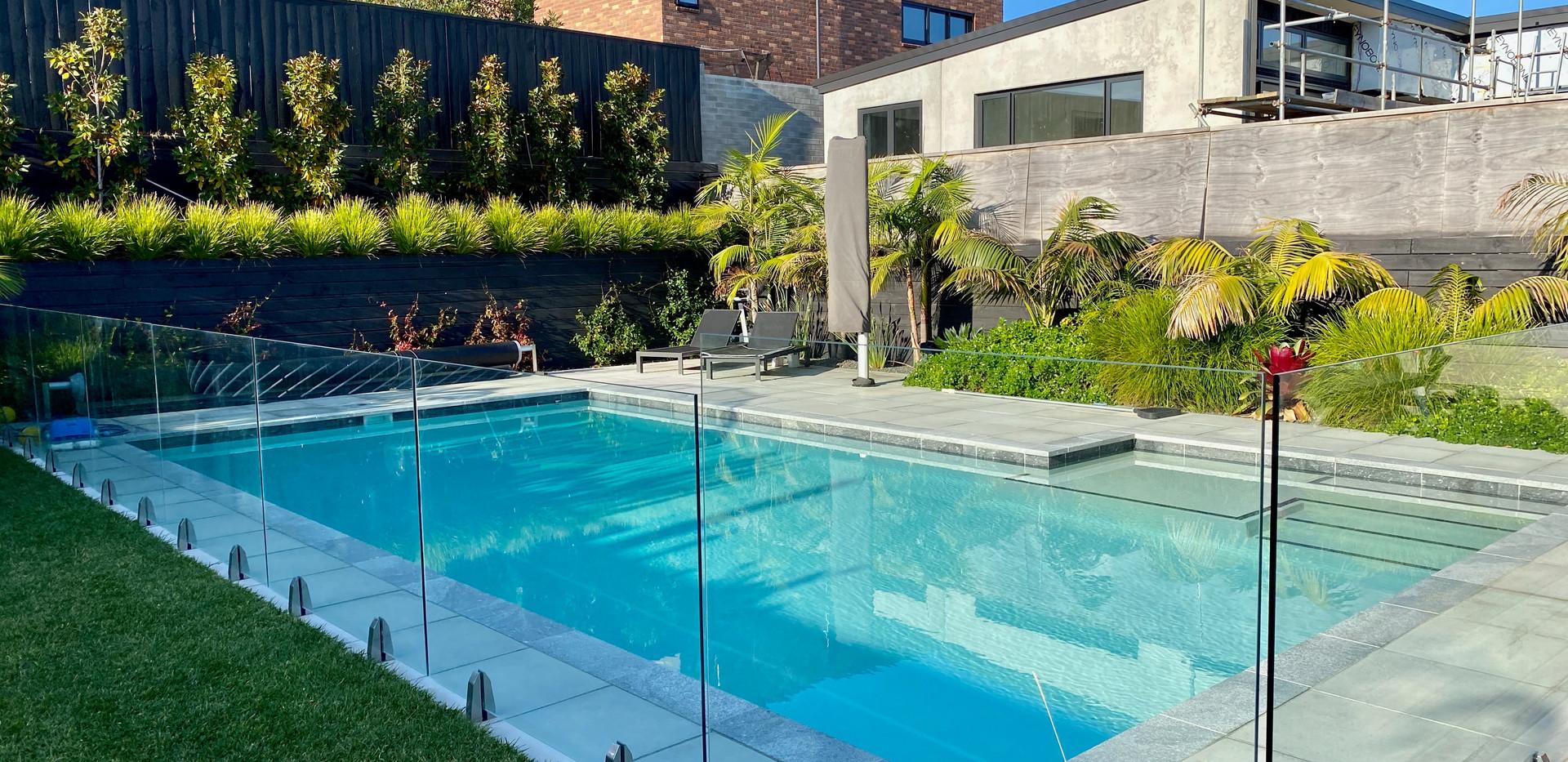 Pool with Baja Shelf