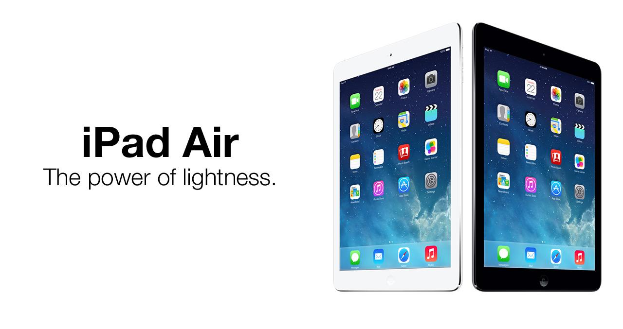 iPad Air Front Glass Repair Service