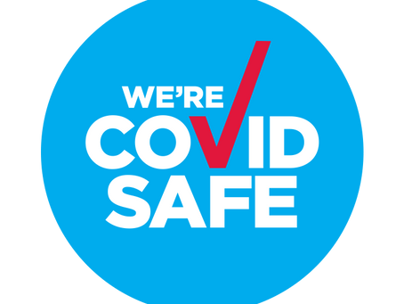 COVID SAFE - Yes we are