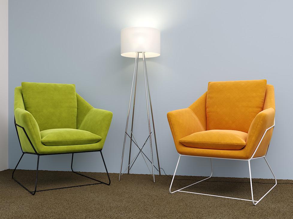 כיסא דגם סימפוניה