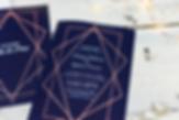 Creative event invite