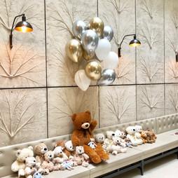 Teddy bears' lover party