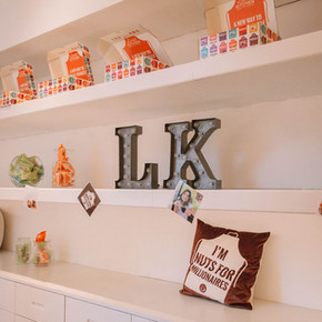 Livia's Kitchen pop-up shop install for