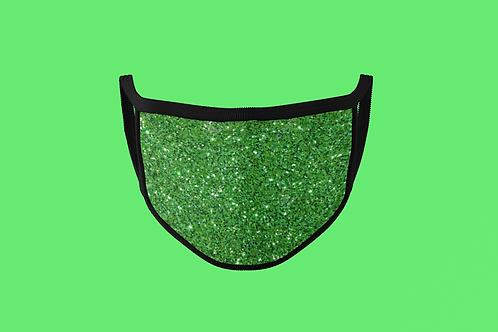 GLITTER GREEN MASK