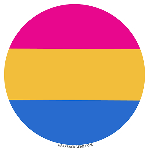 PANSEXUAL PRIDE STICKER