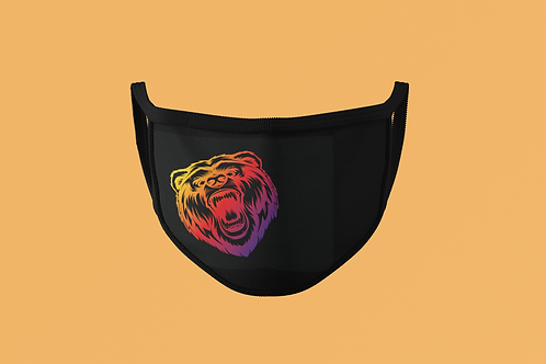 SUNSET FIERCE BEAR FACE MASKS