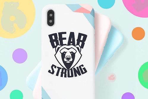 BEAR STRONG -PHONE SIZE- DECAL