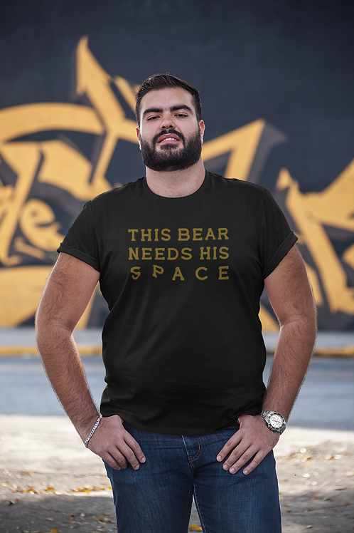 THIS BEAR - SOCIAL DISTANCING (FRONT & BACK)