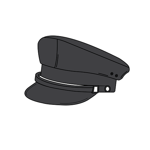 SIR HAT STICKER
