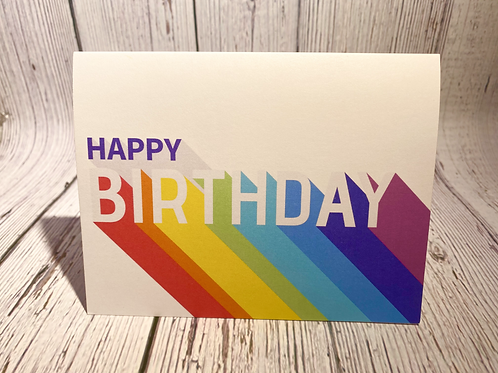 (PRIDE) HAPPY BIRTHDAY CARD