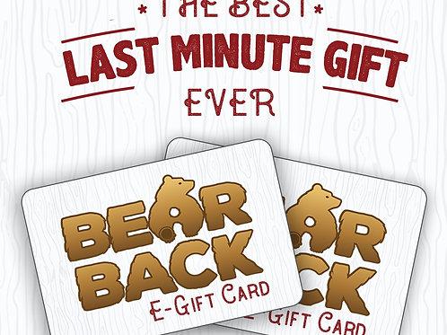 VIRTUAL BEARBACK GIFT CARD