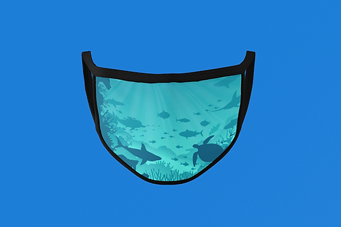 UNDER THE SEA FACE MASK