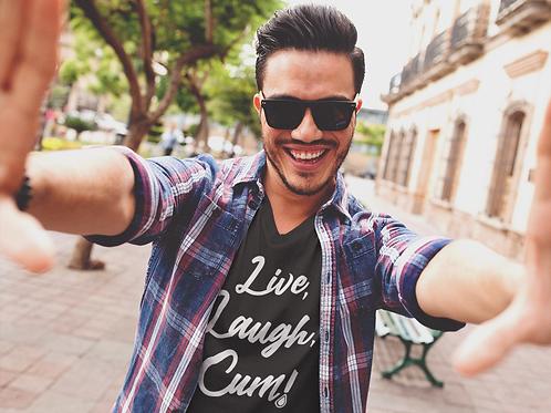 LIVE, LAUGH, CUM!