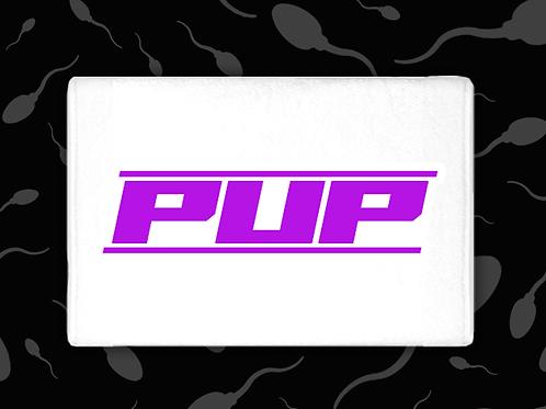 PURPLE PUP CUM TOWEL