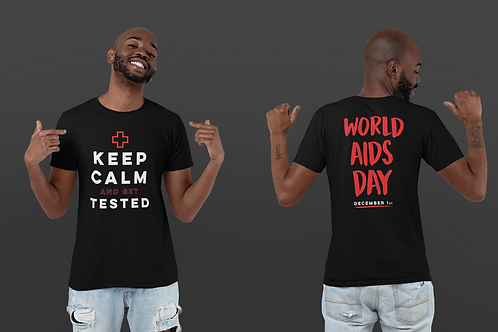 GET TESTED/WORLD AIDS DAY (FRONT & BACK)