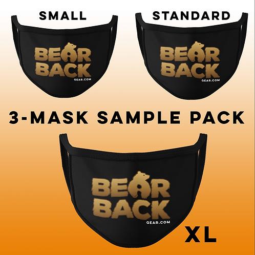 3-MASK SAMPLE PACK