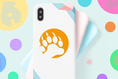 BEAR CLAW -PHONE SIZE- DECAL