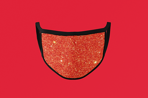 EMBER RED FACE MASK
