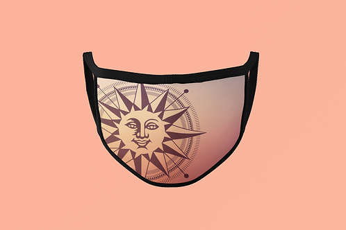 SUN DIAL FACE MASK