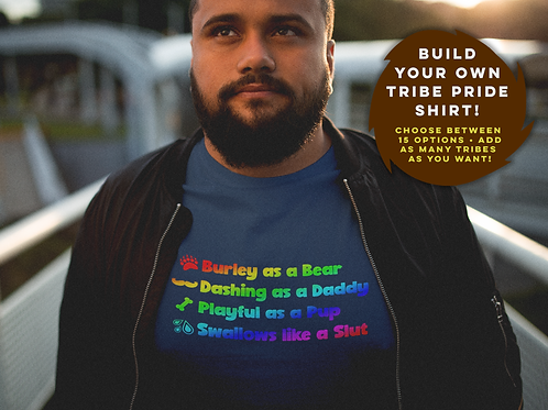 BUILD YOUR OWN TRIBE SHIRT