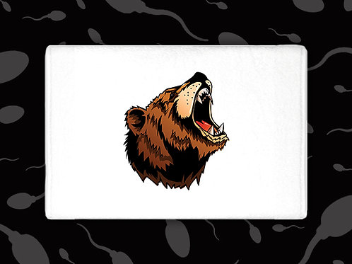 BEAR GROWL CUM TOWEL