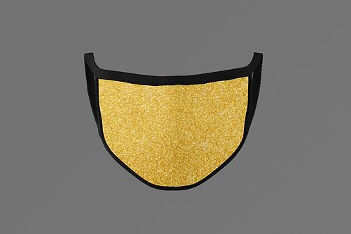 GLITTER GOLD MASK