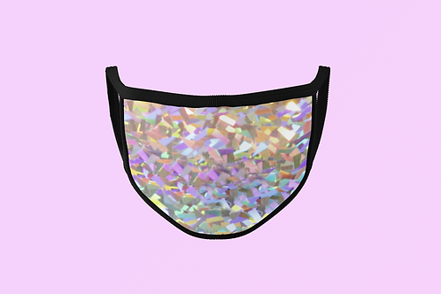 CRYSTAL HOLOGRAPHIC MASK
