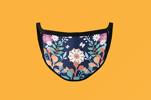 FLOWERS IN BLOOM FACE MASK