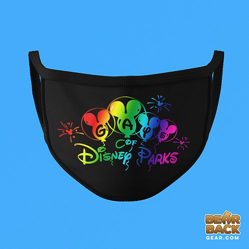GAYS OF DISNEY PARKS MASK (BALLOONS)