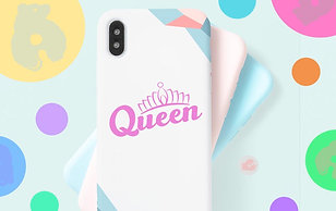 QUEEN - PHONE SIZE - DECAL