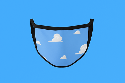 TOY STORY CLOUDS FACE MASK