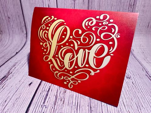 (HEART) LOVE CARD