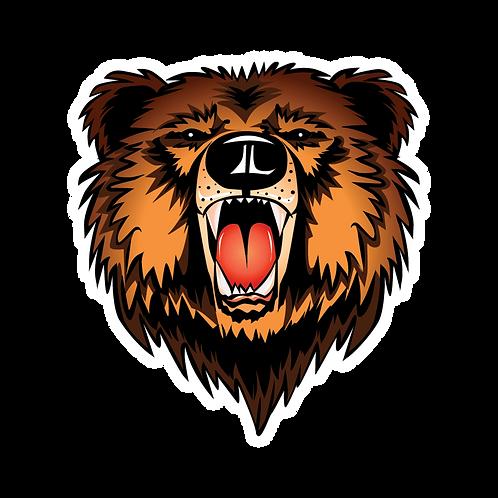 BEAR FACE STICKER
